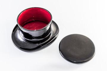Poubelle de table en forme de chapeau haut de forme