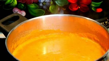 Pumpkin based soup