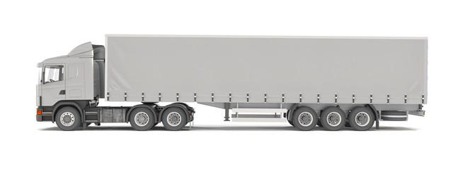 cargo truck - silver - shot 43