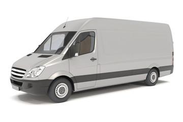delivery van - silver - shot 06