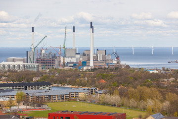 Power plant in Copenhagen