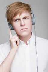 Guy in headphones