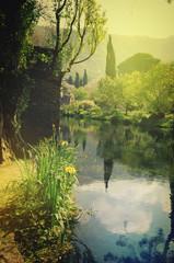 Gardens of Ninfa Latina Italy