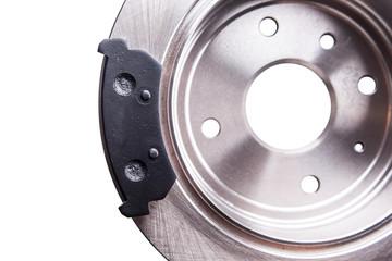 New back brake disks and pads