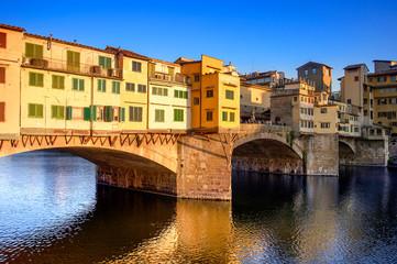 Tramonto su Ponte Vecchio