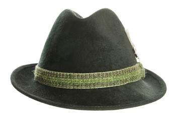 Green Tyrolean Ocktoberfest Bavarian hat