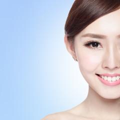 woman beauty face
