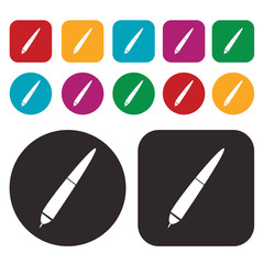 pen icon / writing and painting tool