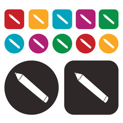 pencil icon / writing and painting tool