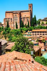 Church of San Domenico in Siena