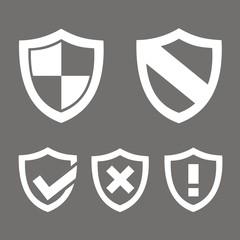 Grupo iconos escudos FO