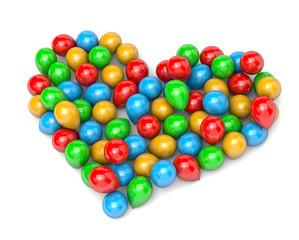 Balloons Heart Shape
