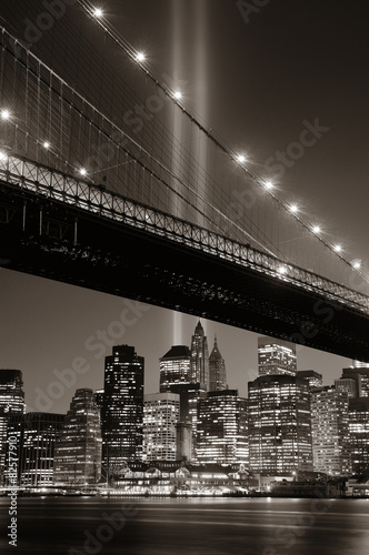 Foto op Aluminium New York New York City night