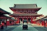 Fotoroleta Tokyo temple