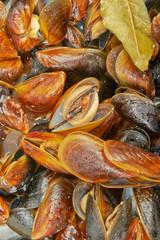 Mussels prepared