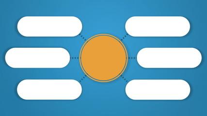 Circle tree diagram for presentation.typo topic box.6