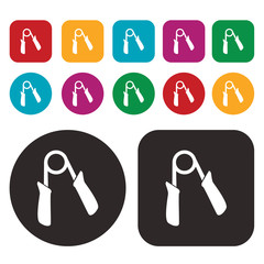 hand trainer / Hand expander icon