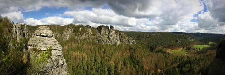 The Elbe Sandstone Mountains April 2015
