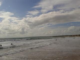 Landscape pf the ocean