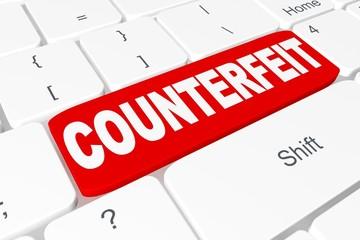 "Button ""COUNTERFEIT"" on keyboard"