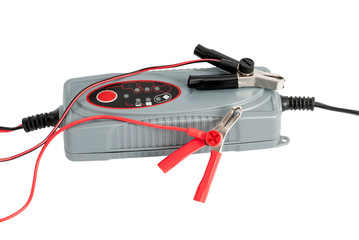 Modern electronic charger for car battery