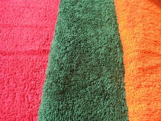 Хлопковые махровые полотенца