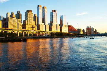 Riverside neighborhood in New York City