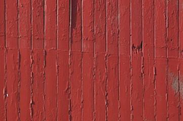 Immagine di un tavolato verniciato rosso