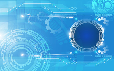 abstract technology innovation template background