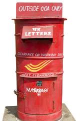 Cassetta postale a Goa - Spedizione solo fuori Goa