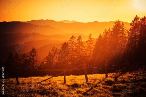 mata magnetyczna California Hills Sunset