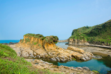 Ho Ping Island Hi Park located in Keelung,Taiwan.