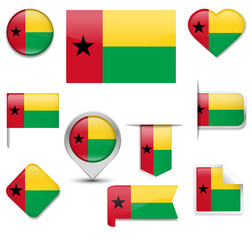 Guinea Bissau Flag Collection