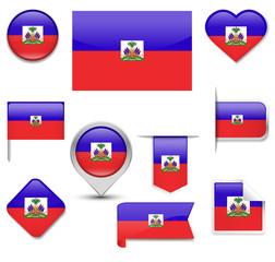 Haiti Flag Collection