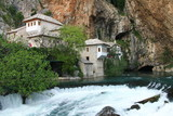 Dervish house in Blagaj  Bosnia and Herzegovina poster