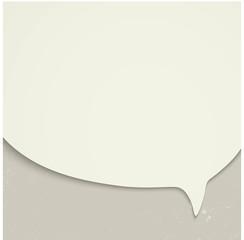 Speak bubble concept