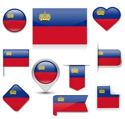 Leichtenstein Flag Collection