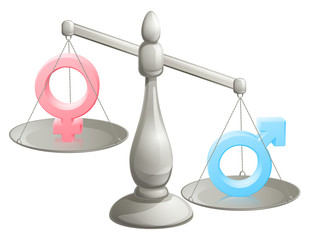Male female gender scales