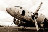 remains of a Dakota DC3 aircraft