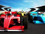 Fotoroleta Car race