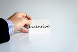 Incentive Concept poster