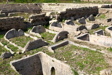 Tyre Archeological Ruins Water Cisterns, Lebanon