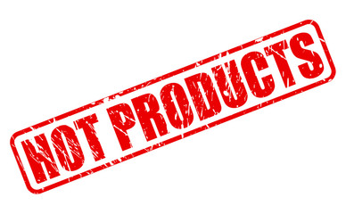 Hot products red stamp text