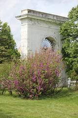 gate of castle Dundjerski Serbia