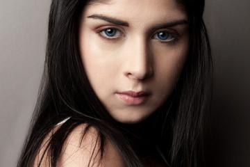 Jeune femme beauté