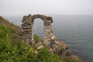 Medieval fortress at Kaliakra Cape, Bulgaria