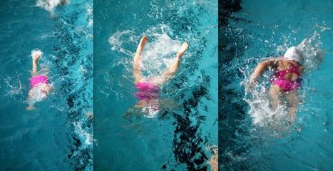 dip in water - swimming
