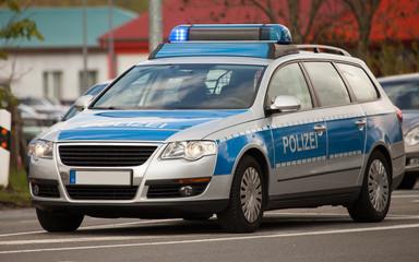 Polizeifahrzeug, police vehicle