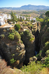 Tajo de Ronda, Malaga province, Andalusia, Spain