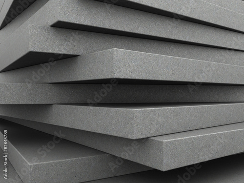 concrete plates background